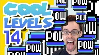 Mario Maker - Time Stop, Boss Rush, POW Mansion, and Kaizo Badlands | Cool Levels #14