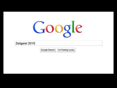 Google Releases Annual Zeitgeist Report, An In Depth Look At The 2010 Year In Search