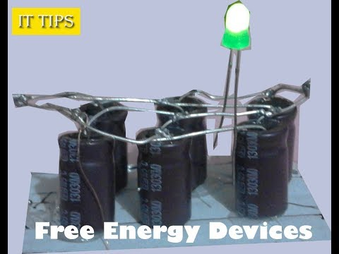 how to make a free energy bank using capacitor 100% working thumbnail