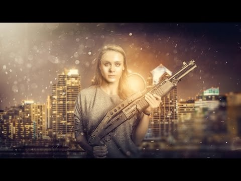 Photoshop CC Tutorial | Photo Manipulation Effects | movie Poster Design