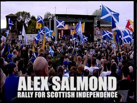 ALEX SALMOND - SEPT 21, 2013 - CALTON HILL, Edinburgh