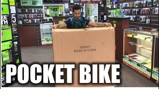My Biggest Unboxing Yet! Pocket Bike Unboxing and Hands on Review