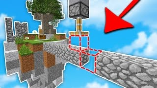 THIS MINECRAFT TRAP is AMAZING... (Minecraft Skywars)