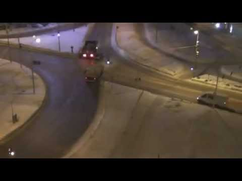 ДТП с грузовиком. Проезд на красный. Сургут