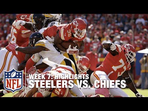 Steelers Vs Chiefs Week 7 Highlights Nfl