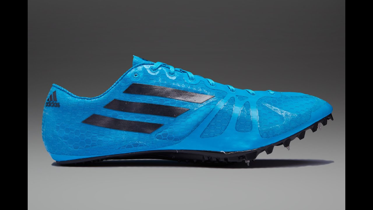 adidas adizero prime sp in action sprint spike youtube