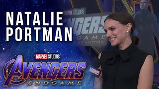 Natalie Portman talks girl power in the Marvel Universe LIVE from the Avengers: Endgame Premiere