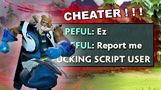 Dota 2 Cheater - ZEUS with FULL PACK OF SCRIPTS, MUST SEE!!!