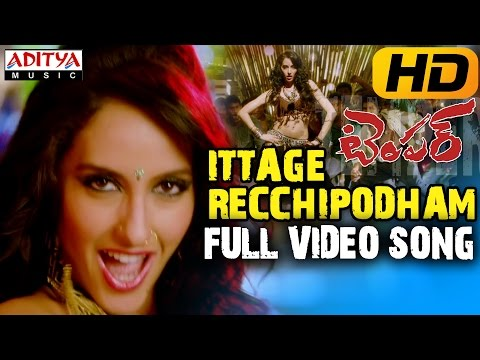 Ittage Recchipodham Full Hd Video Song - Temper Movie - Jr.ntr, Kajal Agarwal video