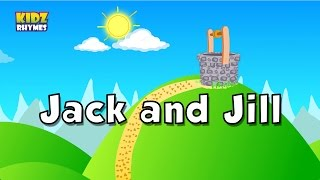 Jack and Jill Nursery Rhyme | Jack and Jill Song for Children |   Lyrics