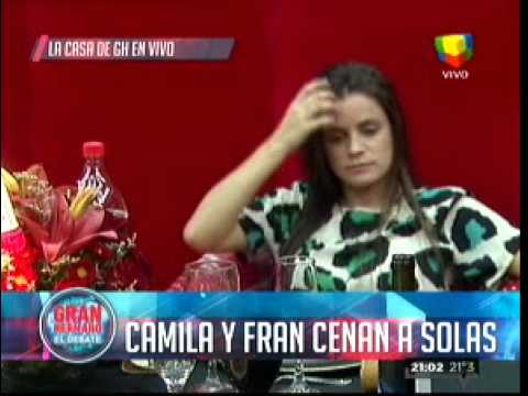 Cena de reconciliación entre Camila y Francisco que pasaron del odio al amor