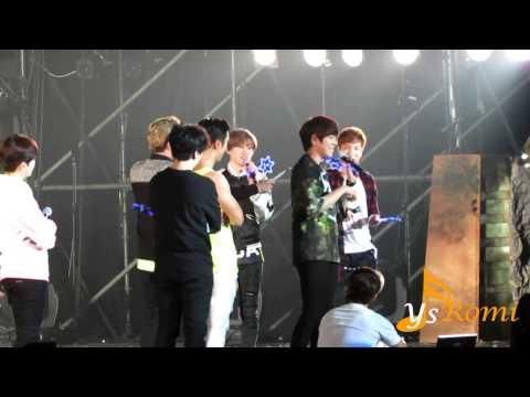 141130 Super Junior - 中場完整talking  Ss6 In Taiwan ( 每個人都玩瘋了,東海看到螢光棒變色超開心) video