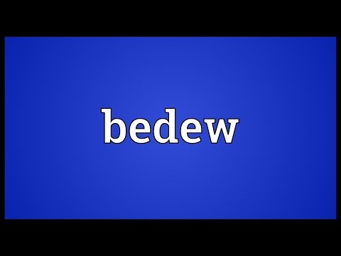 Header of bedew