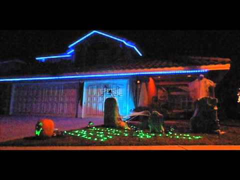 Halloween Light Show 2011: Preview
