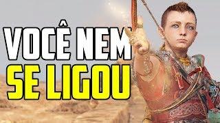 EXPLICANDO O FINAL DO NOVO GOD OF WAR!