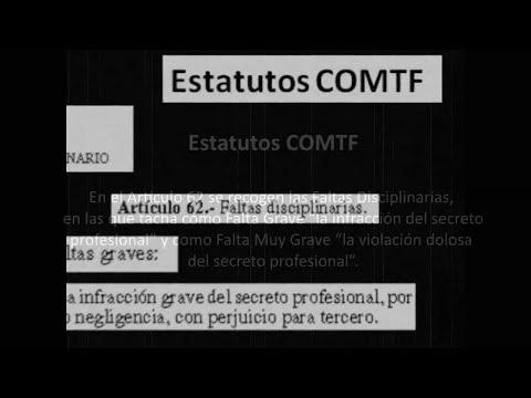 Cód. Deontológico Art 27-29. Secreto Profesional