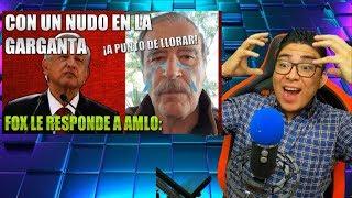 VICENTE FOX CON NUDO EN LA GARGANTA LE PIDE A AMLO POR EL JUICIO A EX PRESIDENTES