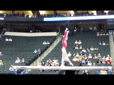 Kyla Ross - 2011 Visa Championships - Beam, day 2