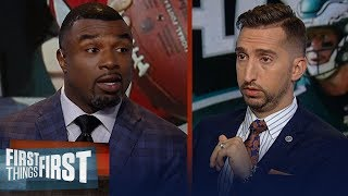 Brian Westbrook lays out expectations for Wentz, Eagles vs Falcons Sunday | NFL | FIRST THINGS FIRST