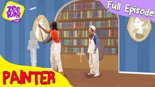 Let's Play: Painter & Decorator | FULL EPISODE | ZeeKay Junior