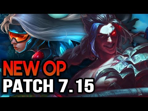 New OP CHAMPS IN 7.15 - Biggest Buffs & Nerfs (League of Legends)