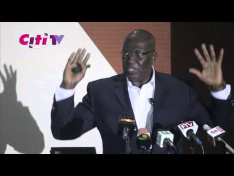 Ken Thompson presents on the dire state of Ghana's Economy