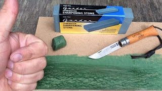 $ 3 Sharpening Stone? MDF Strop Test as well !!!