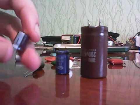 Электролитические конденсаторы для усилителя звука