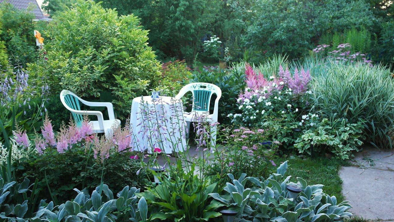 Создаем красивый дизайн сада