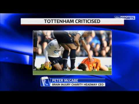 Headway condemn Spurs over Lloris   Video   Watch TV Show   Sky Sports