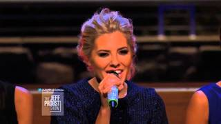 The Saturdays - What About Us Acoustic | Jeff Probst Show 25th January 2013 HD