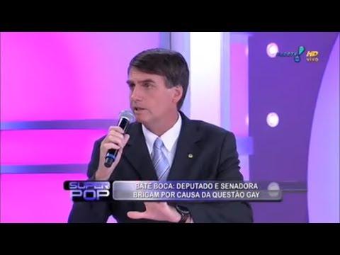 Briga entre Felipeh, Bolsonaro e Agnaldo Timóteo no Super Pop! (2/2)