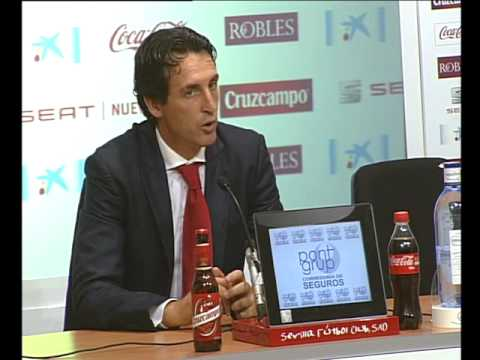 Rueda prensa Unai Emery. 01/09/13. Sevilla FC