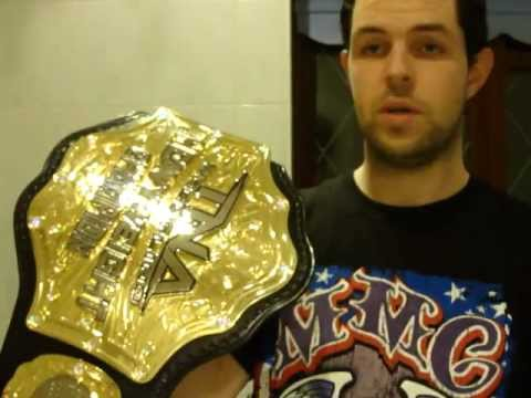 Tna World Title New Tna World Title Replica