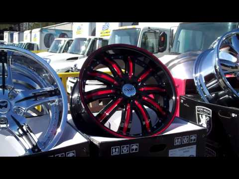Custom Wheels Many major rim brands & styles BTS Tire & Wheel