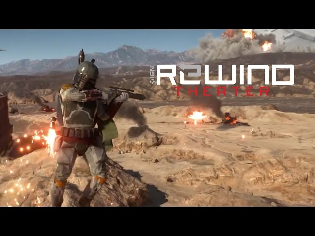 Star Wars Battlefront: What's a Smoldering Star Destroyer Doing on Tatooine? - IGN Rewind Theater