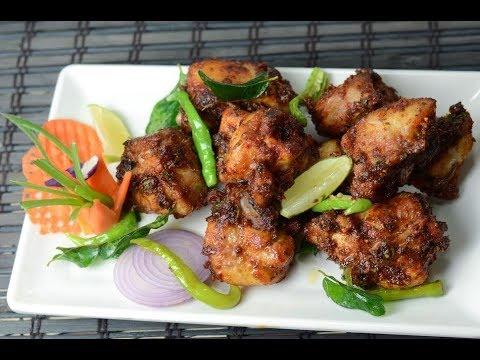 Pan fry chicken