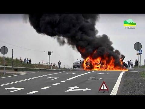 Sieniawka, Pożar Aut Po Wypadku