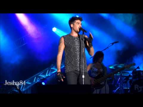 Adam Lambert performs For Your Entertainment at Universal Studi