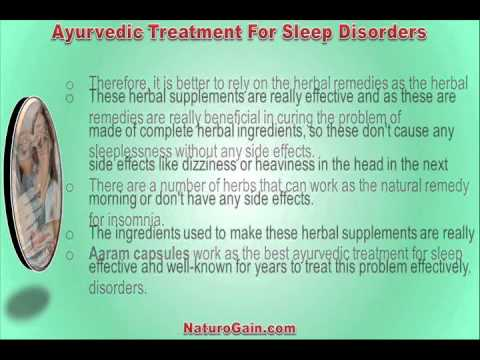 Healthy Diet And Ayurvedic Treatment For Sleep Disorders