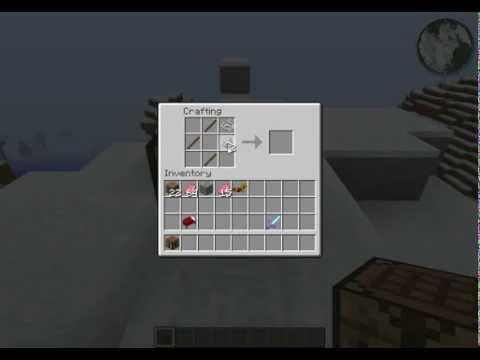 minecraft wie baut man ein bogen youtube. Black Bedroom Furniture Sets. Home Design Ideas