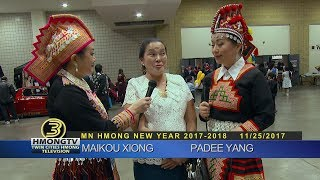 3 HMONG NEWS: MN Hmong New Year  2018 with Padee Yang and Maikou Xiong.