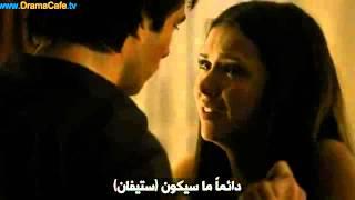 2x01 Damon kisses Elena by force