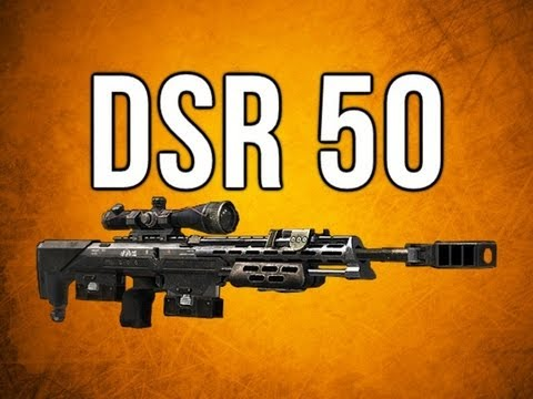 Black Ops 2 In Depth - DSR 50 Sniper Rifle Review