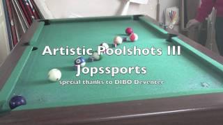 artistic pool trickshots III