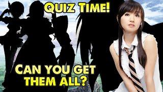 Test Your Anime Knowledge - Seiyuu Sundae - Nana Mizuki