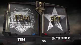 Pro Play #26 | TSM vs SKT | MSI 2017 Day 4 Game 5 Hightlights