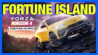 Forza Horizon 4 : FORTUNE ISLAND EXPANSION!!