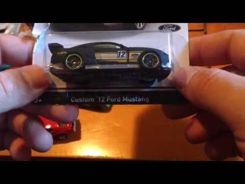 Hot Wheels Wal Mart Exclusive Mustang 50th Anniversary Set Review!