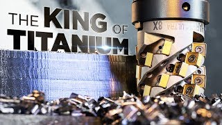 Testing New Kennametal Tangential Mill 4-12 in 316 Stainless | DMG MORI | Vlog #61